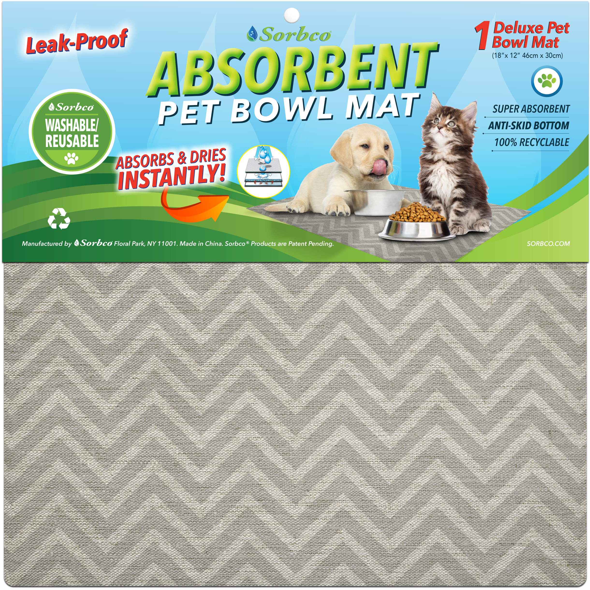 white mat bowl magic product pet wm mats pbmxl