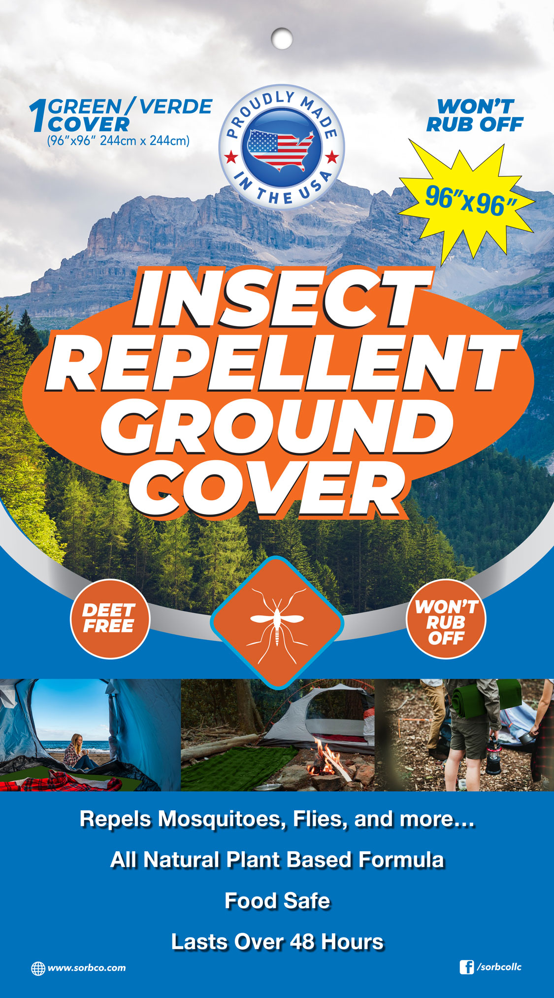 Insect Repellent Ground Cover Sorbco